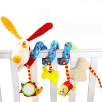 מובייל מנגן לתינוק רב-שימושי מתאים לכל גיל מובייל ספירלה רב-שימושי מתאים לתלייה על עריסה/סלקל/עגלה/טיולון. מתאים לתינוקות מגיל 0. המובייל כולל מגוון בובות בד חמודות שינעימו את זמנו של הפעוט בכל מקום בו נמצא.