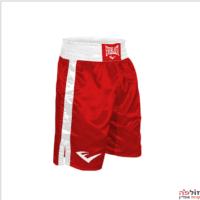 מכנס אימון איגרוף אדום עם לבן